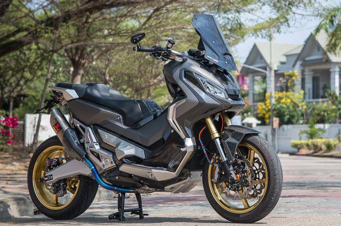Modifikasi Honda X-ADV beraliran racing yang anti mainstream