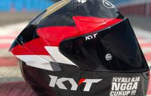Gerry Salim Luncurkan Livery Helm Untuk Balap Moto2 FIM CEV Repsol