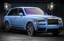 Ini Jadinya Jika SUV Mewah Rolls-Royce Cullinan Pakai Warna Cerah