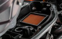 tersedia 2 model, begini cara pasang filter udara aftermarket di motor