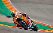 Hasil Balap Moto2 Aragon 2021 - Raul Fernandez Tampil Sempurna, Pembalap Tim Indonesia Cuma Satu yang Finis