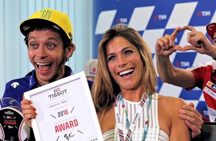 Valentino Rossi dan Eleonora Pedron