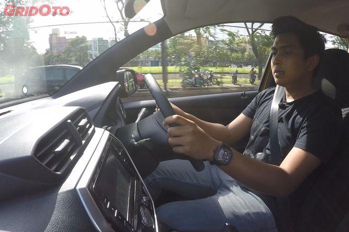 Posisi mengemudi Datsun Cross terasa pas