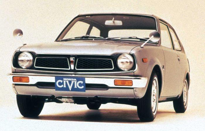 Desain Honda Civic hatchabck generasi pertama