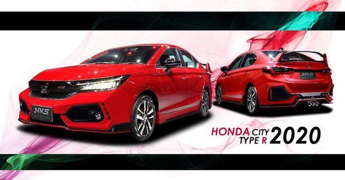 Modifikasi Honda City ala Civic Type R kreasi NKS Design