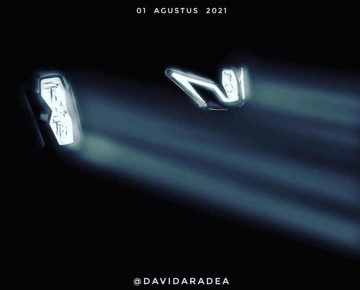 Teaser launching GSX-R150 dan GSX-S150 ala David Aradea