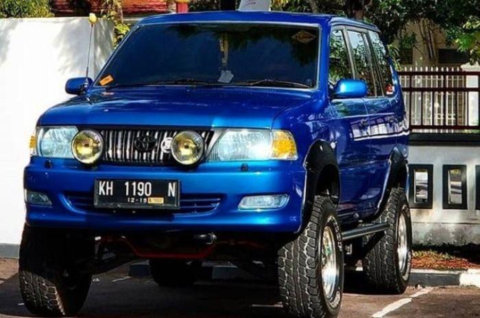 Toyota Kijang Kapsul Adopsi Gaya Off Road Jadi Jangkung Dan