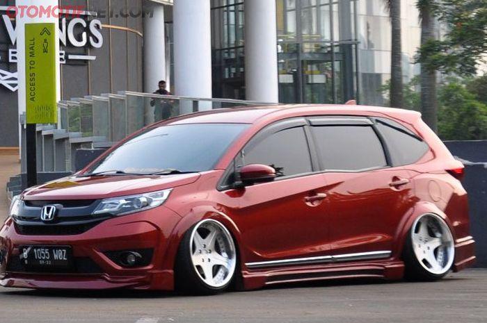 Modifikasi Honda BR-V Prestige 2017 milim Bram Khrisnadi, keren luar dalam