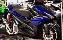 Pensiun Balap, Yamaha Aerox Proper Dikombo Bodi Kevlar Plus Part Kece