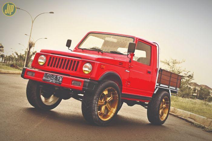 Modifikasi Suzuki Jimny SJ410 bergaya stockman