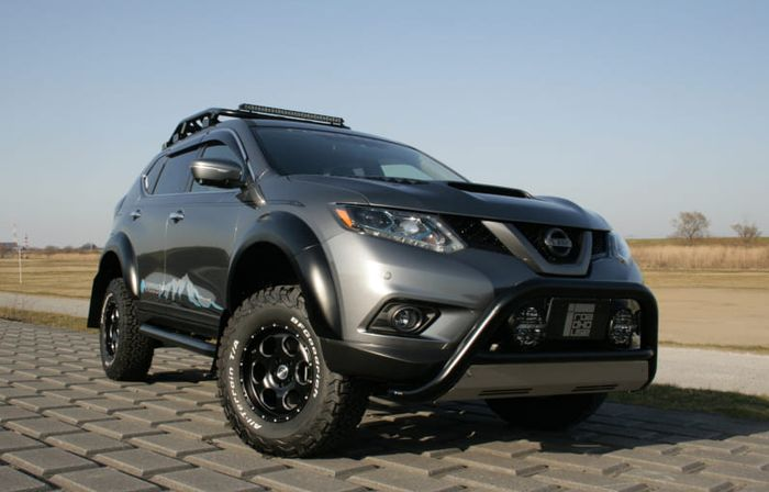 Modifikasi Nissan X-Trail hasil garapan Roadhouse