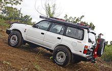 Mau Tahu Cara Bikin Kokoh & Nyaman Land Cruiser VX80? Pasang Ini Deh..