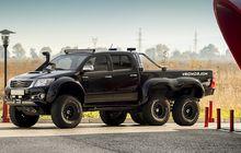 Gokil, Toyota Hilux Ini Coba Pakai Gaya yang Tidak Biasa