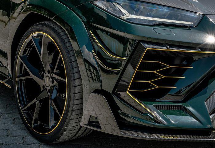 Lamborghini Urus ditopang pelek model Y-Spoke ukuran 24 inci
