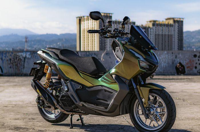 Honda ADV 150 dandan minimalis, warna bodi dan partnya bikin eye catching