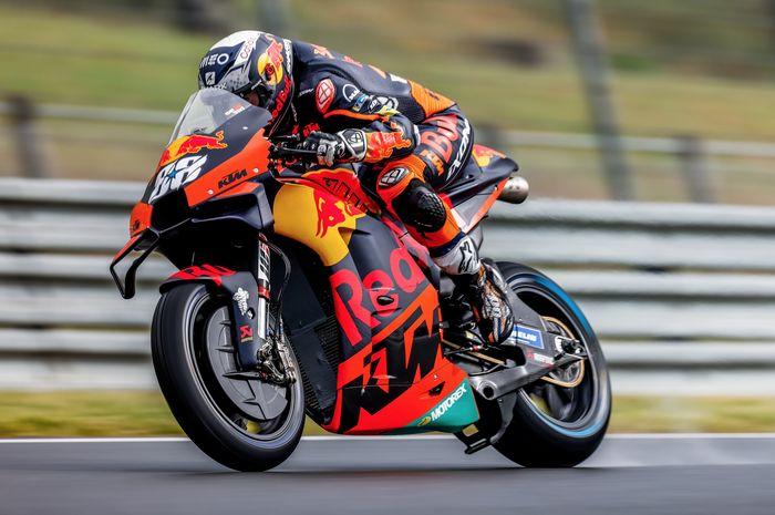 Miguel Oliveira saat di MotoGP Catalunya 2021.  Masuk bursa juara dunia
