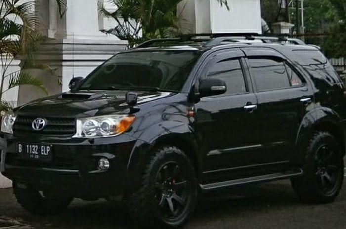 Toyota Fortuner G Luxury 2008 dimodifikasi ala city slicker off road