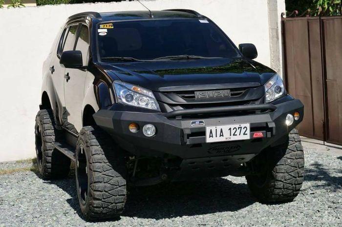 Modifikasi Isuzu MU-X sangar garapan tuner Filipina, Jeff's Off-Road.