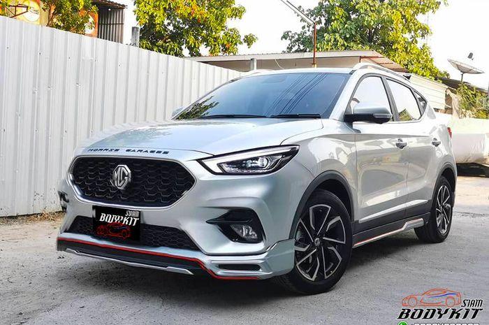 Modifikasi MG ZS facelift hasil garapan Siam Bodykit, Thailand