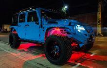 jeep wrangler tampil segar pakai kelir biru dan lebih mancung