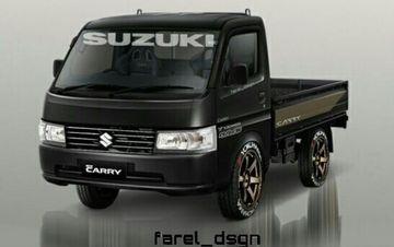 Suzuki New Carry Pickup Sudah Ada Versi Modifikasi Digital