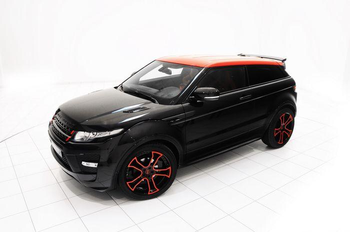 Modifikasi Range Rover Evoque hasil garapan Startech, Jerman