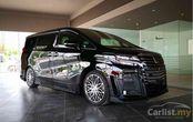Toyota Alphard Kreasi TOM'S, Tampang Lebih Sporty dan Pakai Pelek Unik