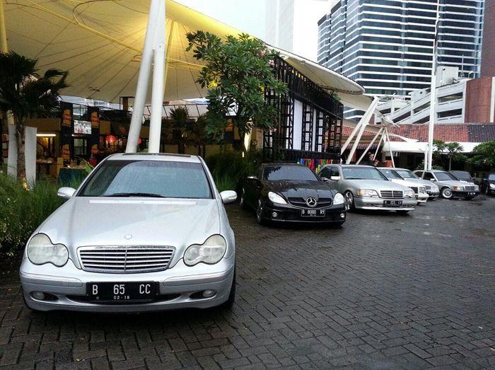mobil anggota MBCC