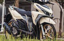 Modifikasi Honda Vario 150 Tampil Beda Cangkok Warna Mini Cooper