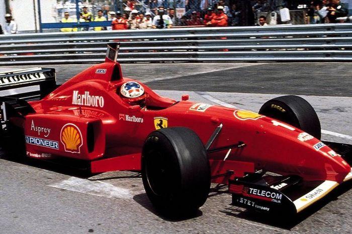 Flashback F1 Monako 1996 Balapan Paling Aneh Helm Michael Schumacher Dipakai Pembalap Lain Kok Bisa Gridoto Com