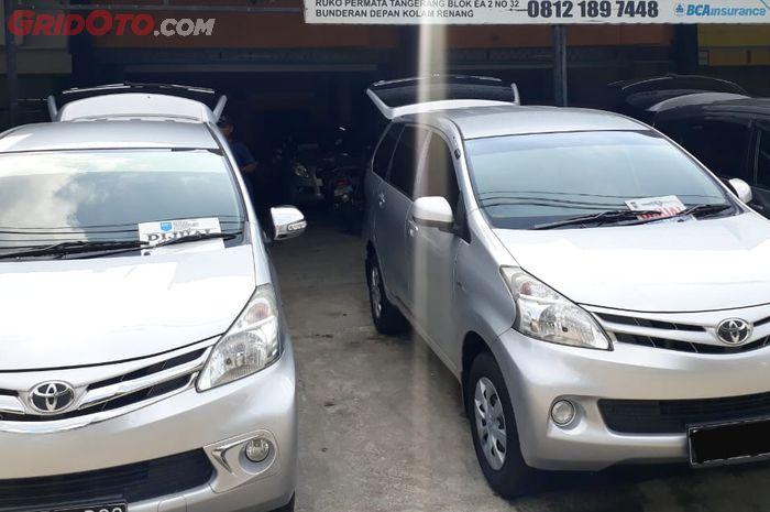 Ilustrasi Toyota Avanza seken