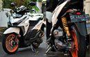 Modifikasi Honda Vario 150, Tampang Sporty, Kaki-kaki Beraura Racing
