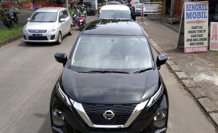 All New Nissan Livina yang turut meramaikan konvoi bareng Dealer Nissan-Datsun Cinere bersama Nissan Evalia Community.