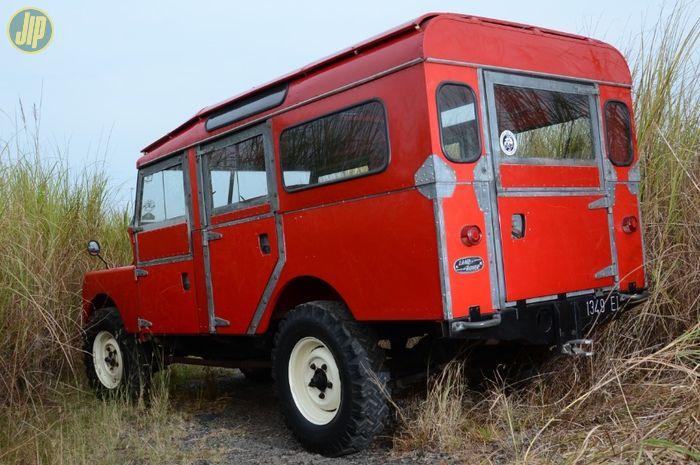 Restorasi Land Rover Seri I 107 Station Wagon 1957