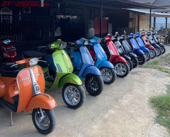 Spesialis jual Vespa seken di Bekasi Jawa Barat