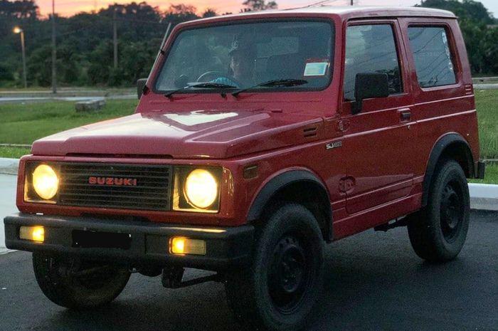 Ilustrasi Suzuki Jimny SJ410