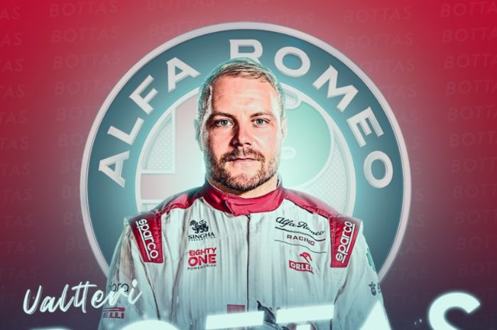 Valtteri Bottas gabung Alfa Romeo