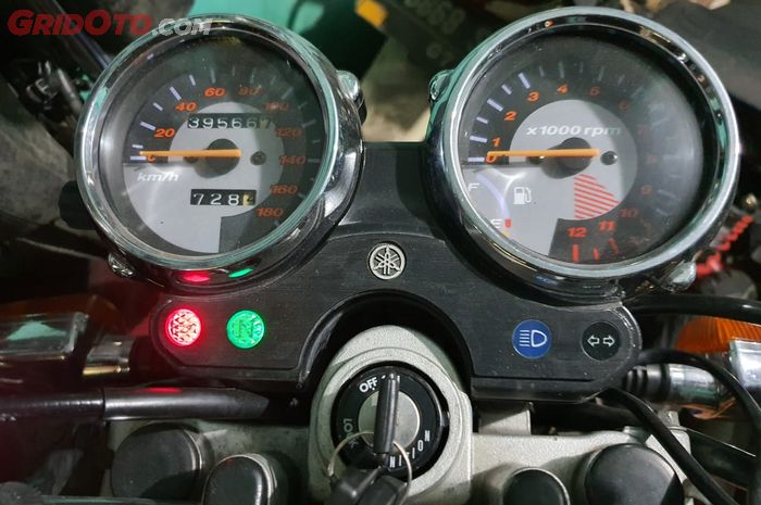 Ilustrasi amper bensin mati