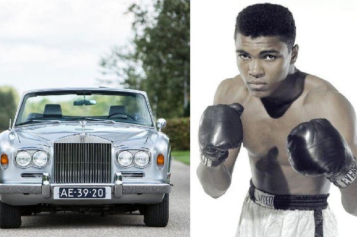 Rolls-Royce Silver Shadow cabriolet, salah satu koleksi mobil Muhammad Ali