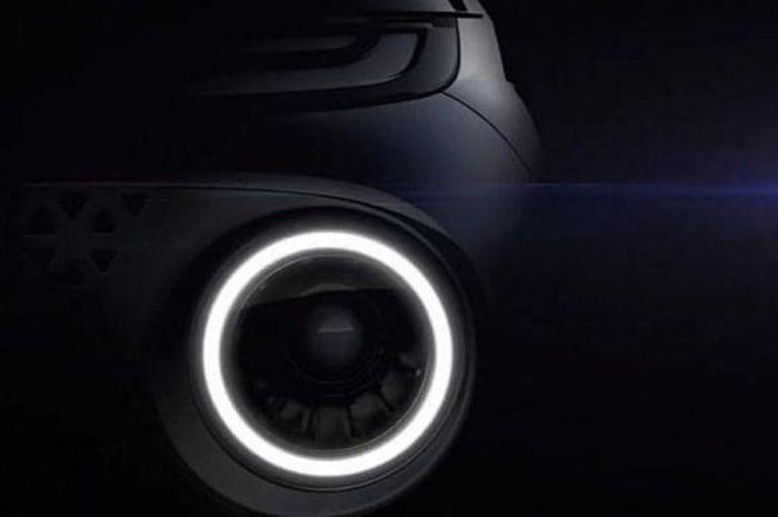 Teaser Compact SUV terbaru Hyundai, yakni Hyundai AX1.