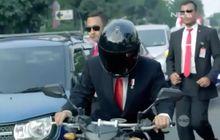 Warga Negara Asing Sampai Terpana, Lihat Orang Yang Naik Moge di Video Itu Ternyata Presiden Jokowi