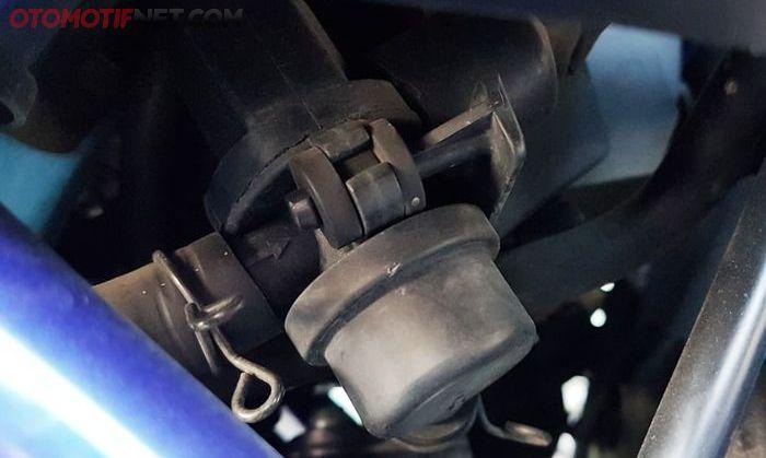 AIS pada Yamaha MT-25, kalau pakai knalpot racing disarankan untuk dipampet