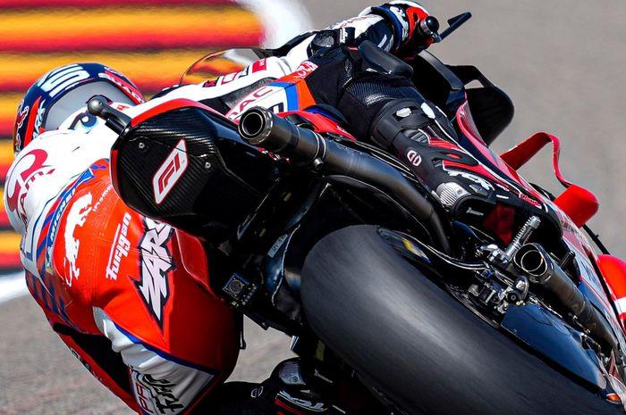 Johann Zarco kuasai FP4 MotoGP Jerman 2021