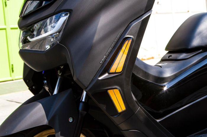 Warna sein JPA untuk All New Yamaha NMAX masih tetap berwarna kuning
