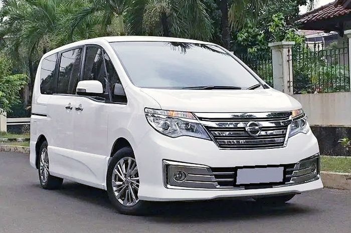 Ilustrasi Nissan Serena C26 facelift