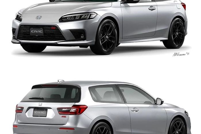 Gabungan Honda Civic Hatchback dan Honda Civic Estilo
