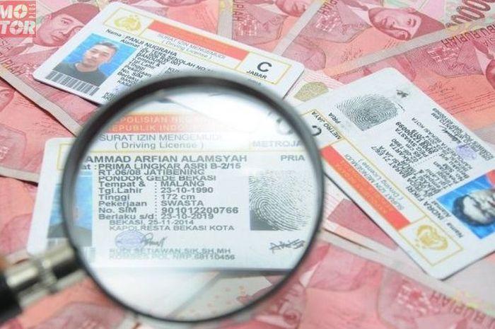 Ilustrasi pembuatan SIM