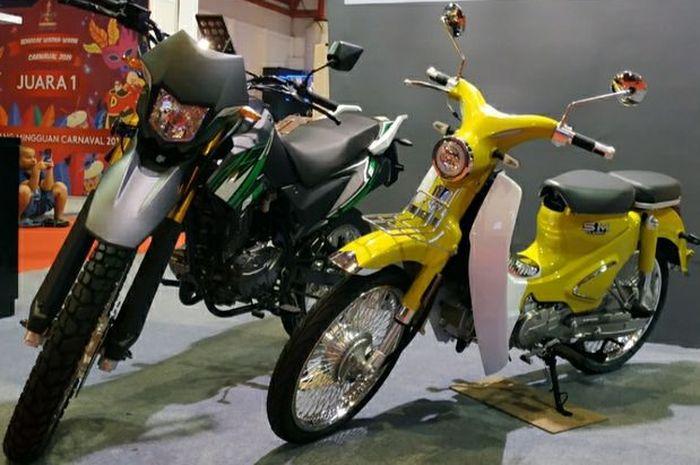 SM Sport Classic, mitrip Honda Super Cub C125 asal  Malaysia dijual di Jakarta Fair Kemayoran (JFK) 2019.