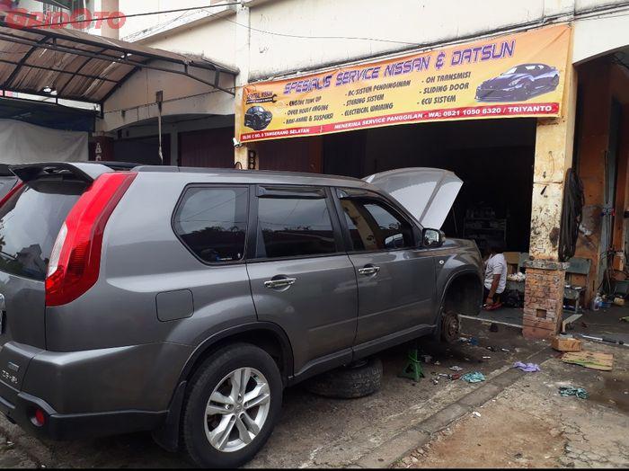 Bengkel spesialis Nissan, Central Nissan di BSD, Tangerang Selatan
