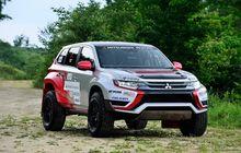Mitsubishi Outlander PHEV Bergaya Mobil Balap, Keren Gak?